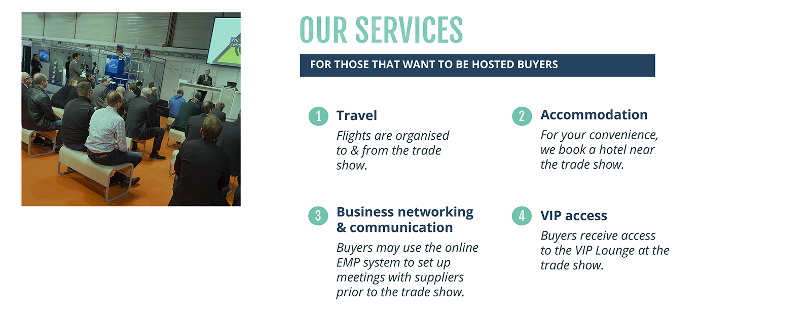 EPP HOSTED BUYER Services